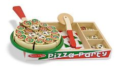 Melissa & Doug Wdn Pizza Party