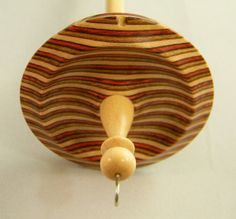 REDUCED / Top whorl drop spindle in Spectraply and by texasjeans