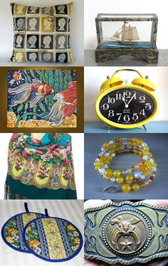 Unique autumn finds. by Anne de Woeste on Etsy--Pinned with TreasuryPin.com