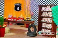 decoração festa carros disney