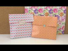 Geschenkverpackung in 1 Minute - süße Papiertüte für Kleinigkeiten - für die Mutter, Beste Freundin - YouTube