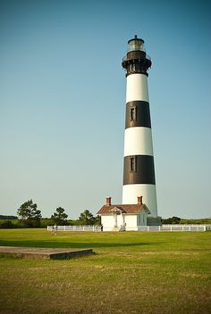 Bodie Island Lighthouse -- a close second to Hatteras for me.  Love the Outer Banks