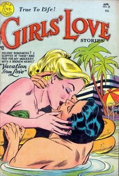 Cover for Girls' Love Stories (1949 series) #22