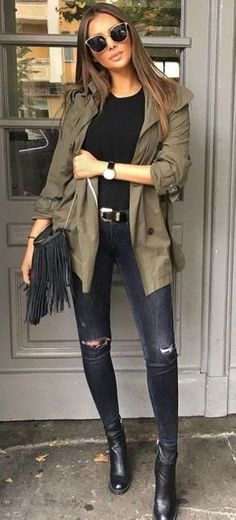 Spring outfits for ideas and scholl and korean. Spring Fashion 45 Perfect Spring Outfits That Will Save Your Life / 028 Source by Looks Street Style, Looks Style, Fall Winter Outfits, Autumn Winter Fashion, Fall Fashion, Winter Dresses, Outfits Spring, Style Fashion, Spring Wear
