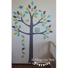 Awesome Deco Chambre Vert Anis that you must know, You?re in good company if you?re looking for Deco Chambre Vert Anis Decoration Creche, Benjamin Moore Paint, Green Furniture, Gray Owl, Cork Flooring, Owl Bird, Green Turquoise, Kid Beds, Kids Room