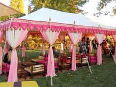 Holiday Party Themes with pink circus Raj Tents Tent Decorations, Wedding Decorations, Tent Camping, Glamping, Holiday Party Themes, Party Ideas, Holiday Decor, Canopy Outdoor, Outdoor Decor
