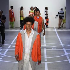 telfar pushes preps limits for spring/summer 17 http://ift.tt/2chiSGU #iD #Fashion
