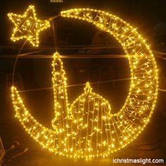 LED Ramadan decorations light supplier | iChristmasLight