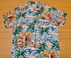 """""""Royal Hawaiian"""" 50s Rayon"""