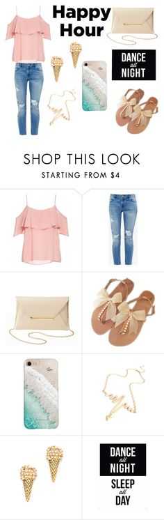Summer Set #6 by sandstormthenerd on Polyvore featuring BB Dakota, Ted Baker, Charlotte Russe, Marc Jacobs, Gray Malin, Native State and happyhour