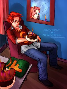 George Weasley's Birthday<<< WHAT IS WRONG WITH YOU?!?!?!? WHY WOULD SOMEONE MAKE THIS. IT HURTS .