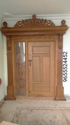 House Main Door Design, Wooden Main Door Design, Pooja Room Door Design, Door Gate Design, Duplex House Design, Door Design Interior, Entrance Design, Wood Bedroom, Bedroom Furniture