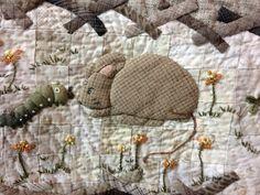 Tokyo Quilt Show 2013,  detailed applique pn a very large quilt