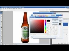 Photoshop Tutorial - Episode 17 - Applying a Label - YouTube