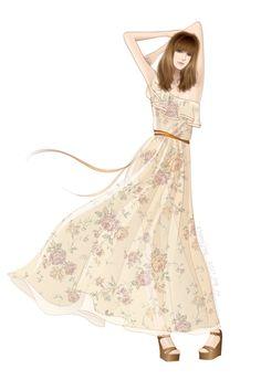 30 Fashion Illustration by adobe illustrator