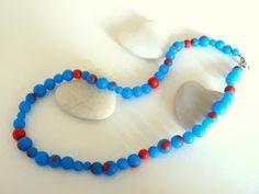 fimo necklace (handmade beads)