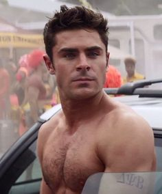 I'm hoping this is Zac Efron's 'f**king' face