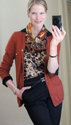 MaiTai's Picture Book: Capsule wardrobe #128 - leopard print, part II