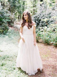 A Secret Garden Wedding Complete With Dreamy Dress + DIY Details – Style Me Pretty