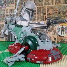 Boba Fett looking fresh  #Lego #Slave1#legocreator #instalego #legostagram #legos #toystagram #instatoy #collection #starwars #legocollection #tfol #brickfan #legoland #bobafett #customlego #everythingisawesome #minifig #brickfan #legofigures #afol #nerd #legomoc #bricknetwork #legofan #legolife #legofollowers #jordbricks by jordbricks