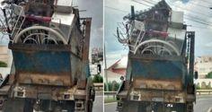Internauta flagra carro com excesso de carga em viaduto de São José, SP - Infotau Vale