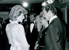 Memories Of Diana - Attending The Premiere Of The New James Bond Movie ' A View To A Kill' - June 12th 1985