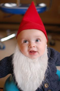 diy halloween gnome costume for your baby