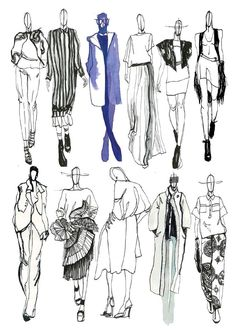 Fashion illustration portfolio, fashion design sketchbook, fashion design d Fashion Illustration Portfolio, Fashion Design Sketchbook, Illustration Mode, Fashion Sketches, Fashion Illustrations, Dress Sketches, Drawing Fashion, Design Illustrations, Collage Illustration