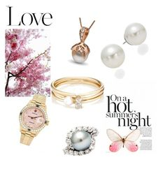 """""""Untitled #49"""" by melly-di ❤ liked on Polyvore featuring Rolex, AK Anne Klein and Loren Stewart"""