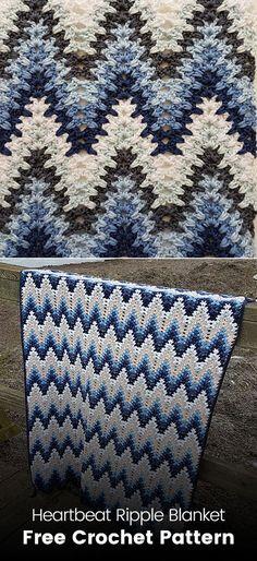 Stunning Mountain Mist Crochet Afghan Free Pattern