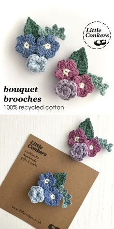 Click to visit my Etsy shop for my full range of eco-friendly brooches, key chains and small gifts.