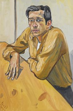 Portrait of the Judge as a Young Activist, United States, 1964, by Alice Neel.