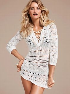 NEW!  			Hooded Crochet Cover-up Sweater #VictoriasSecret http://www.victoriassecret.com/swimwear/cover-ups/hooded-crochet-cover-up-sweater?ProductID=90734=OLS?cm_mmc=pinterest-_-product-_-x-_-x