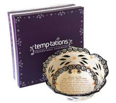 Temp-tations Old World Recipe for a Perfect Holiday 1.5qt Bowl