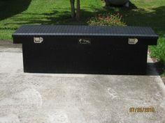 Black Diamond Plate Truck Bed Tool-Box