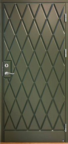 Ytterdörr Karlsborg 350 | Ekstrands Nagano, Verona, Mid-century Modern, Door Handles, Mid Century, Doors, Home Decor, Outdoor, Door Knobs