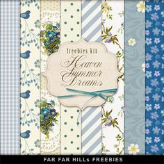 Freebies Kit of Backgrounds - Heaven, Summer Dreams:Far Far Hill - Free database of digital illustrations and papers Free Digital Scrapbooking, Digital Scrapbook Paper, Digital Paper Freebie, Scrapbook Pages, Digital Papers, Far Hills, Bridal Shower Scrapbook, Decoupage, Printable Paper