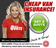 Compare cheap van insurance with a twist at VanInsuranceStrip.co.uk - simply enter your details in our quick quote form and compare the best deals in seconds. No hassle, no fuss, no obligation - just the cheapest van insurance in the UK, available in seconds!