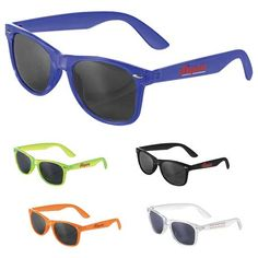 9b8d8899aaf7 The Crystal Sun Ray Sunglasses are classic folding eyewear with UV 400  protective lenses.
