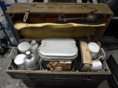 Kitchens and Accessories : Italian Army Field Kitchen