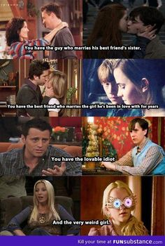 Funny pictures about Friends and Harry Potter formula. Oh, and cool pics about Friends and Harry Potter formula. Also, Friends and Harry Potter formula. Serie Friends, Friends Moments, Friends Tv Show, Funny Friends, Friends Cast, Friends Episodes, Close Friends, Hogwarts, Monica Rachel
