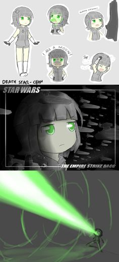 Death Star-chan