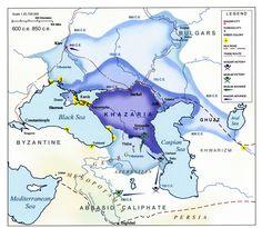 The Khazar state.