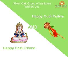 Silver Oak Group of Institutes wishes you a very happy Gudi Padwa and Cheti Chand.  #gudipadwa #chetichand