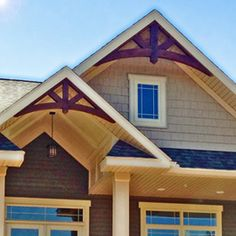 Gable And Gable Brackets Exteriors Hus Snickerier
