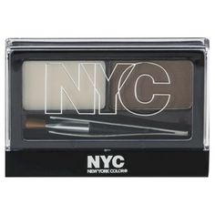 3 Pack NYC Browser Brush On Brow Kit  Brunette * Check out this great product.