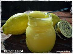 La cocina de Virtu: Lemon Curd  al microondas
