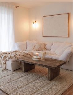 It's cloudy and cold and this is exactly where I'll be the rest of the day watching movies Home Living Room, Living Room Designs, Living Room Decor, Apartment Interior, Apartment Living, Living Room Inspiration, My New Room, House Rooms, Cozy House