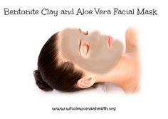 Bentonite Clay and Aloe Vera Facial Mask - Whole Woman Health