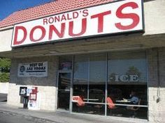 Ronald's Donuts, the only vegan donuts in Las Vegas!